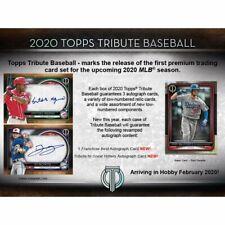 Pittsburgh Pirates - 2020 Topps Tribute Baseball Full Case Break 6/Box