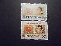 Isle of Man 1984 Commemorative Stamps~Commonwealth~Very Fine Used Set~UK Seller