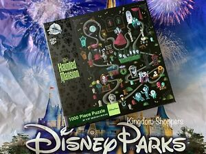 Disney Parks Disney World Disneyland The Haunted Mansion Puzzle 1000 Pieces