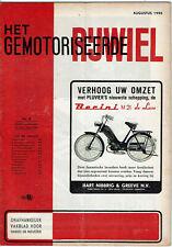 Het gemotoriseerde rijwiel  8-1955 - Dutch moped magazin - Wegproef  MOSOUITO