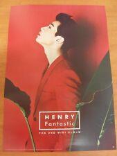 HENRY - Fantastic [OFFICIAL] POSTER SUPER JUNIOR M *NEW* K-POP
