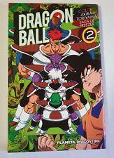 DRAGON BALL COLOR-SAGA DE FREZEER 2-LIBRO DE MANGA-ANIME-COMICS -AKIRA TORIYAMA