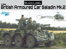 Dragon 1/35 Black Label British Armoured Car Saladin Mk.2 # 3554
