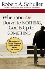 When You Are down to Nothing, God Is up to Something : Discovering Divine...