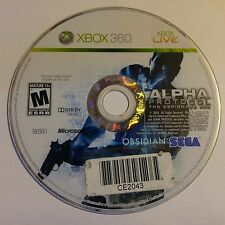 ALPHA PROTOCOL THE ESPIONAGE RPG (XBOX 360) (DISC ONLY) 2715