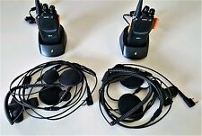 Motorcycle 2 Way Radio Set 2 Bike Complete Nothing Else to Buy
