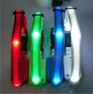 Light Up Flashing Neon LED Dog/Cat Night Safety Nylon Collar Tag EXTRA SMALL/XS