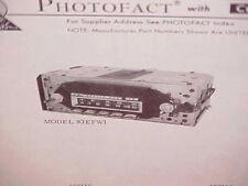 1969 OLDSMOBILE TORONADO 98 CONVERTIBLE DELTA 88 AM-FM RADIO SERVICE SHOP MANUAL