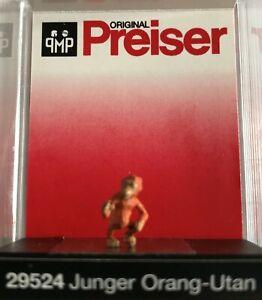 "Preiser 29524 Spur H0 Einzelfigur, ""Junger Orang-Utan"" #NEU in OVP#"