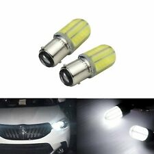 2x Ampoules 8 LED 1157 BAY15d  feux de recul ou stop DRL Blanc Xenon 6000K Auto