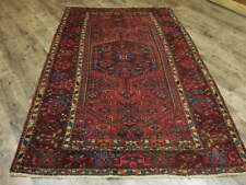 Ca1930s Vg Dy Antique Persian Kurdish Bijar Viss Serapi 4.5x7 Estate Sale Rug