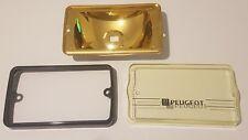 PEUGEOT 205 GTI CTI jaune Siem Reflector Rebuild Kit + LP couvre Paquet