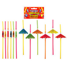 Pack Of 12 Cocktail Umbrella Straw (x41 015)