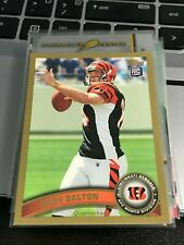 Andy Dalton 2011 Topps Gold #70 rookie rc bengals #/2011! KC62