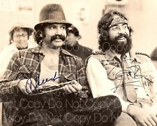 Cheech and Chong signed Marin Tommy 8X10 photo picture poster autograph RP