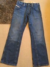 "Men's Diesel Wide Leg Stonewashed Jeans. 32"". Great Condition"