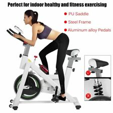 Exercise Bike Stationary Spin Bike Exercise Equipment Home Indoor Fitness Gym TO