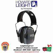 Howard Leight Leightning L1 Earmuffs, Slimline, Low Profile 25dB #R-01524