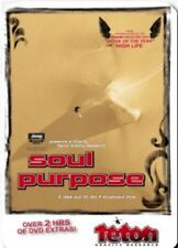 Soul Purpose - Ski Snowboard Movie DVD Film - New! Free US Shipping!