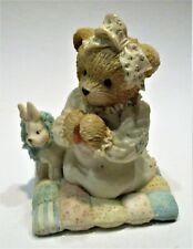 "Cherished Teddies -Patrice- Thank You For The sky so blue"" # 911429 1992 Enesco"