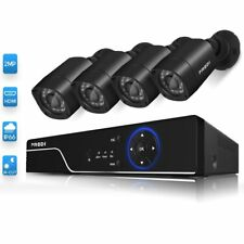 Security Camera System HD Outdoor Indoor IR Night Vision CUT 1080P Wired DVR Kit