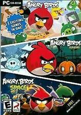 Angry Birds/Angry Birds Seasons/Angry Birds Space (Pc, 2012) New
