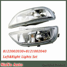 Pair Clear Front Bumper Driving Fog Light for 2001-02 Toyota Corolla 8122002030