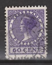 NVPH Netherlands Nederland nr 162 used 1924-1925 Wilhelmina Veth serie