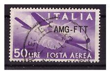 TRIESTE A 1954 - POSTA  AEREA 22A   USATO