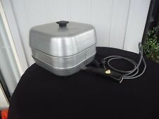 vintage retro sunbeam electric frypan with extension piece model pfp-11a