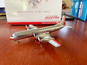 """1/200 JC WINGS XX2388  AMERICAN AIRLINES LOCKHEED L-188 """"ELECTRA""""  N6110A"""