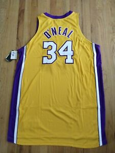 NIKE 2001 SHAQUILLE O'NEAL PRO CUT AUTHENTIC JERSEY sz 56 w 6 XTRA inches length