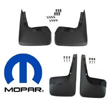 NEW Dodge Grand Caravan Deluxe 11-17 Molded Splash Guards Mud Flaps Mopar OEM