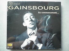 Serge Gainsbourg double cd album digipack Au Commencement