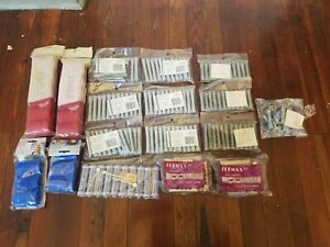 VINTAGE LARGE LOT OF PERM COLD WAVE, Concave Peem Rods & Soft Rollers, 172 Ct