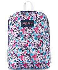 NWT JANSPORT Superbreak 'Petal to The Metal' Floral Print Student Backpack