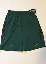 Nike Oregon Ducks Sideline Speed Vent Shorts 'Citius Altius Fortius' Size XL