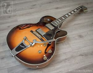 CORT 'YORKTOWN' SEMI-ACOUSTIC GUITAR — WITH BIGSBY — FREE UK SHIPPING