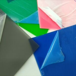 1.8kg of Acrylic Offcuts - Coloured or Opal White - Plastic Panels - Laser Sheet