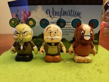 "Disney Vinylmation 3"" Park Set 1 Beauty and Beast Lot Maurice Philippe D'Arque"