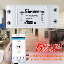 Sonoff Dual-Itead Smart Home WiFi Wireless Switch Module For iOS Android APP HOT