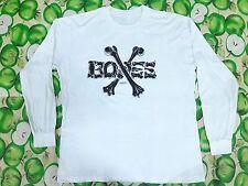 Vintage Powell Peralta Bones 1986 T Shirt Long Sleeves Vision Zorlac Santa Cruz