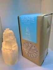 Selenite Skyscraper Lamp Small