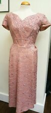 """1950s Original Vintage Evening Gown Bust 39""""/99cm"""