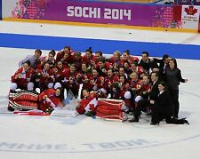 Canada Women's Hockey 2014 Gold Medal Winners - 8x10 Color Team Photo