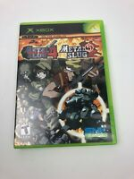 Metal Slug 4 & 5 for Microsoft Xbox Disc w/ Case & Display Art / No Manual