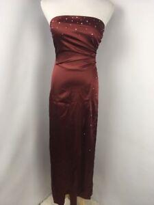 1990s Metallic Floral Dress 90\u2019s Cocktail Evening Formal Dress