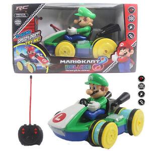 1:18 Luigi SuperMario Kart REMOTE CONTROL Racing CAR ELECTRIC RADIO VEHICLE TOY