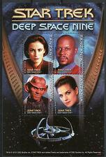 Tanzania 2010 MNH Star Trek Deep Space Nine 4v M/S Benjamin Sisko Quark Stamps
