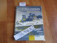 NEW *SEALED* SEA DOO Islandia Sport Boats Shop Service Manual Volume 2